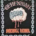 Gehennah - Decibel Rebel Official Backpatch