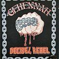 Gehennah - Decibel Rebel Official Backpatch