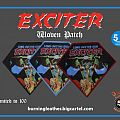 """Exciter """"Long Live The Loud"""" Woven Patch"""