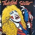 Twisted Sister - Dee Snider Backpatch