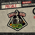 Manilla Road - Pin / Badge - Manilla Road - Crystal Logic Official Pïn