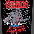 Kreator - Extreme Aggression Vintage Design Backpatch