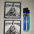 Crucifixion - Patch - Crucifixion - Take it or Leave it Woven Patches
