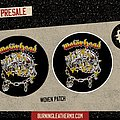 Motörhead - Patch - Motörhead - Iron Fist Vintage Design Woven Patch
