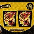 Mercyful Fate - Patch - Mercyful Fate – Don't Break the Oath Vintage Design Backpatch