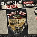 Manilla Road - Crystal Logic Official Flag