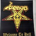 Venom Welcome To Hell Vintage Style Backpatch