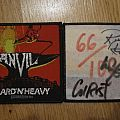 Anvil signed Hard´N`Heavy Patch