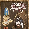 King Diamond the Dark sides vintage black. Patch