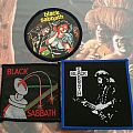 Black Sabbath vintage patches