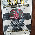 S.O.D. back patch for yours to take