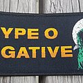 Type O Negative - Patch - Type O Negative Peter Wolf Moon tribute patch