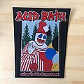 Acid Bath fully woven official back patch. Sold out