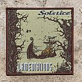 Solstice - Lamentations (UK Epic Doom) 1994 debut fully woven patch