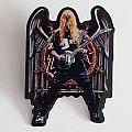 Slayer (Jeff Hanneman)  tribute pin Pin / Badge