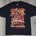 Slayer - Final tour event shirt LA last show
