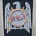 Slayer - Patch - Slayer - Silver eagle backpatch