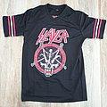 Slayer - Divine Intervention football jersey TShirt or Longsleeve