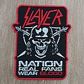 Slayer - Real fans wear blood patch