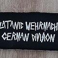 Slayer - Patch - Slayer - Slatanic Wehrmacht backstripe