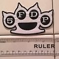 Five Finger Death Punch logo patch