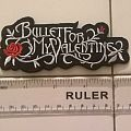 Bullet For My Valentine logo patch