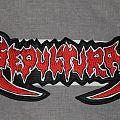 Sepultura - Old Logo backshape Patch