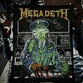 Megadeth - Holy Wars... The Punishment Due original woven patch