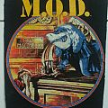 M.O.D. - Gross Misconduct original vintage backpatch