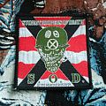 S.O.D - Speak English Or Die original vintage woven patch