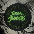 Suicidal Tendencies - Join The Army World Tour vintage woven patch