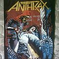 Anthrax - Spreading The Disease Vintage Backpatch