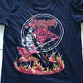 Venom - Cronos On Fire bootleg shirt