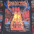 - Benediction - The Grotesque / Ashen Epitaph vintage backpatch