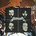 Metallica - Black Album face original woven patch