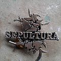 Sepultura metal pin Pin / Badge