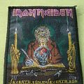 Iron Maiden - Patch - Iron Maiden - Seventh Son Of A Seventh Son original vintage woven patch