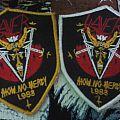 Slayer - Show No Mercy bootleg shield patch