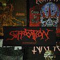 Suffocation original logo patch