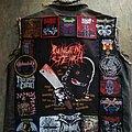 Starting (again) my death metal vest Battle Jacket