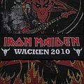 Iron Maiden - Patch - Iron Maiden - Wacken 2010 strip patch