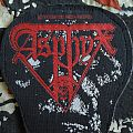 Asphyx - Last One On Earth vintage woven patch