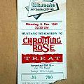 Chroming Rose Ticket 1992