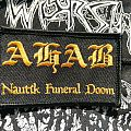 Ahab Nautik Funeral Doom patch