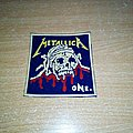 Metallica - One rubber Patch