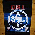 D.R.I. - Crossover backpatch
