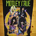 Motley Crue backpatch