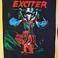Exciter - Patch - Exciter - Long Live the Loud backpatch