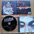 Deicide - Tape / Vinyl / CD / Recording etc - DEICIDE-when satan lives first edition CD 1998