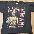 Napalm Death - TShirt or Longsleeve - NAPALM DEATH - utopia banished OG Ts 1992